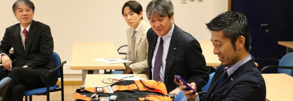 Japanese Delegation from NTT and Toray Industries visits CMM