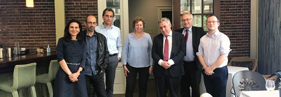 CMM projects recognized during rector Vivaldi visit to Harvard and MIT