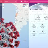 Visualizador COVID-19 en Chile