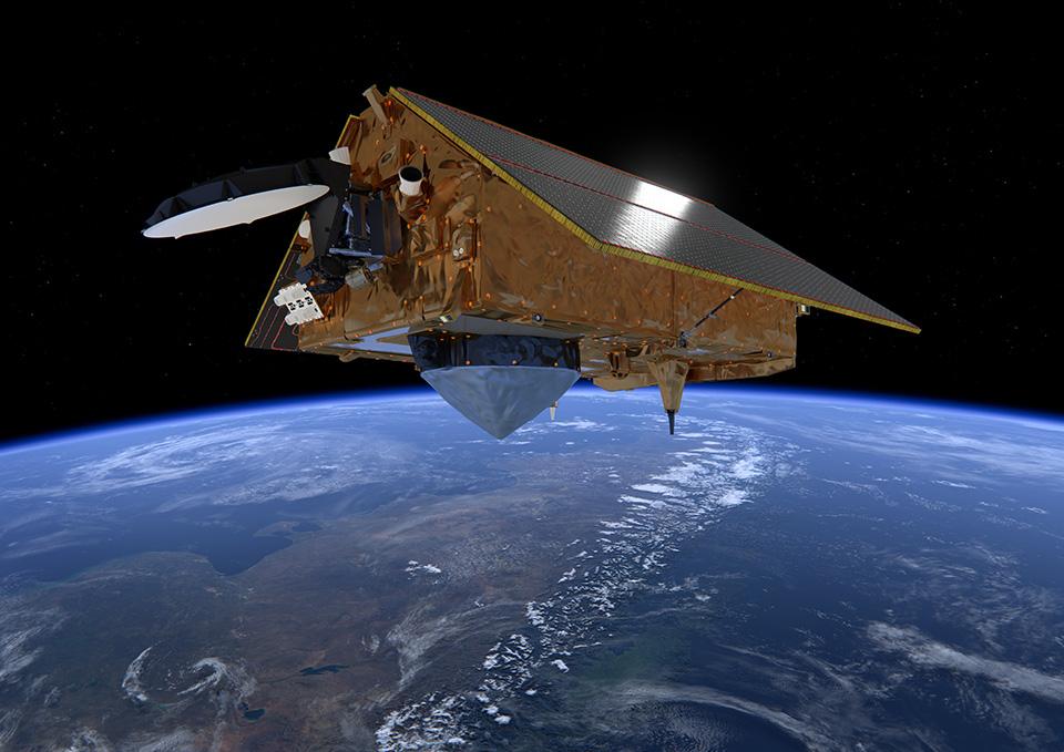 Copernicus Sentinel-6 sobre los Andes