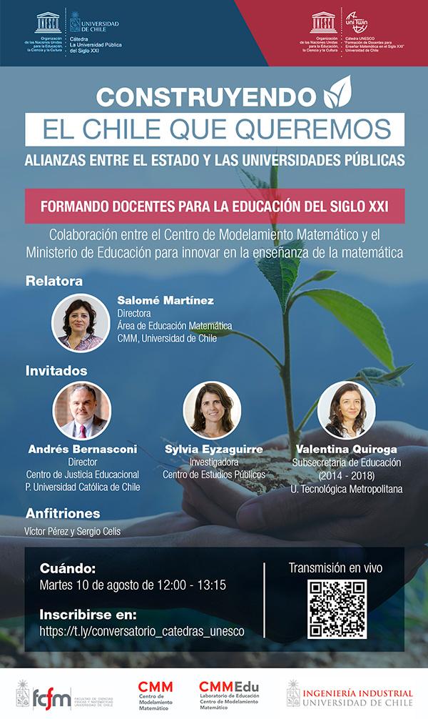 Invitación Cátedras Unesco