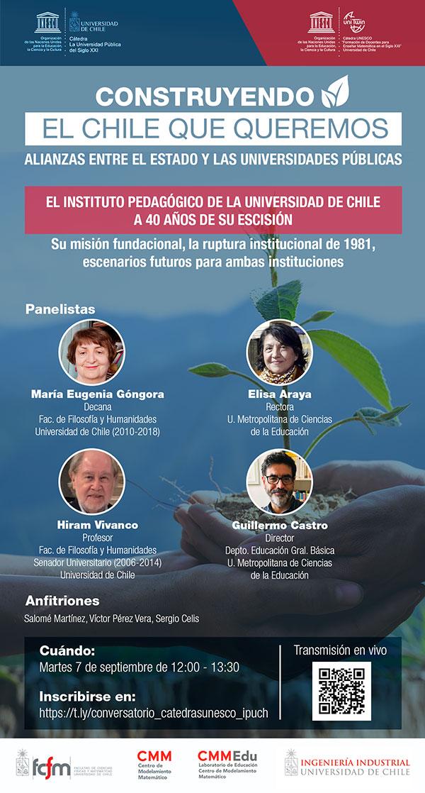 Invitación seminario Catedras Unesco