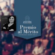 Universidad Andrés Bello reconoce a la Prof. Salomé Martínez con el Premio al Mérito 2021
