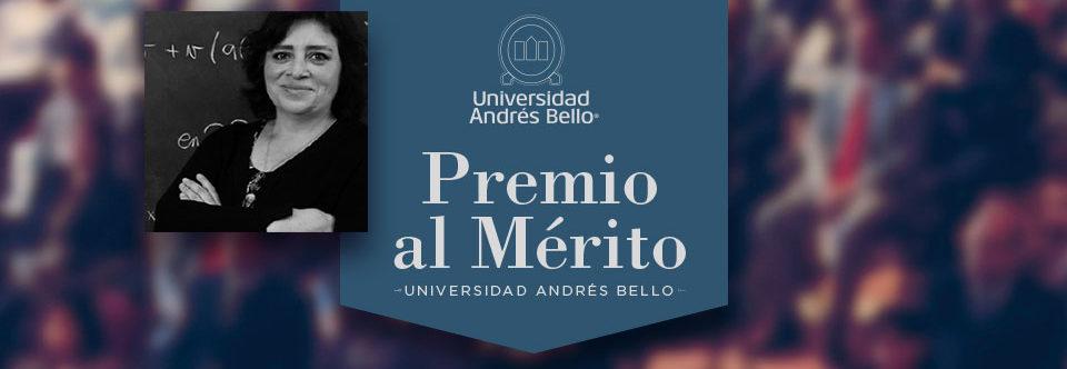 Universidad Andrés Bello recognizes Prof. Salomé Martínez with the Merit Award 2021